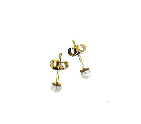 Cultured Pearl stud earrings 1308-3