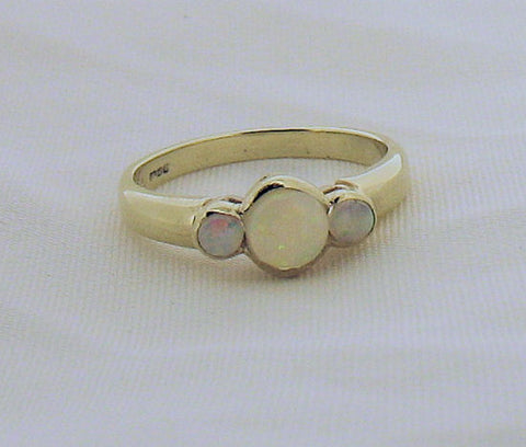 Opal and Gold Ring 172