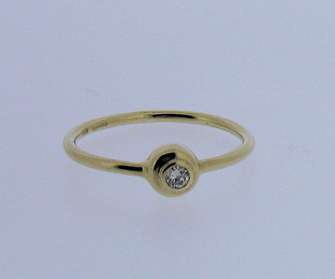 Diamond and 9ct Gold Ring 41842