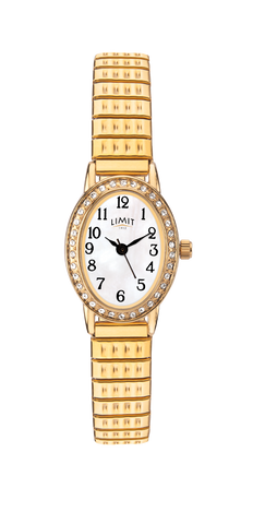 Limit Gold Plated Ladies Expander Watch 6030.01