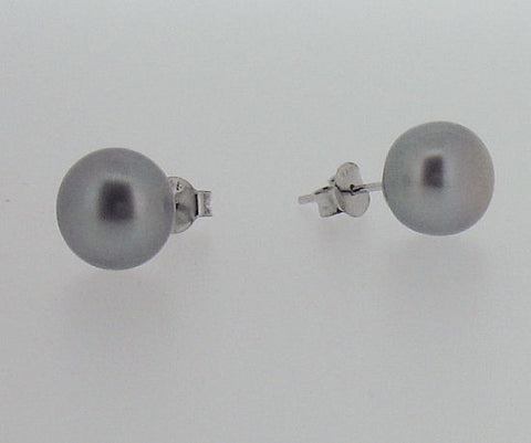 Pearl and Silver Stud Earrings ER008