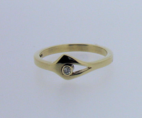 Diamond and 9ct Gold Ring GDR1177