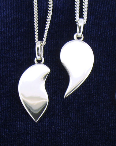 Silver Love Token Necklaces LT2