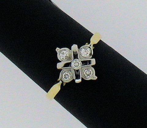 Diamond and 18ct Gold Ring N605