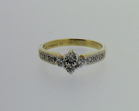 Diamond and 9ct Gold Ring No.20