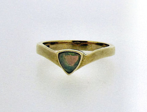 Opal and Gold Ring R090