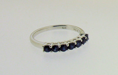 Sapphire and White Gold Ring R118