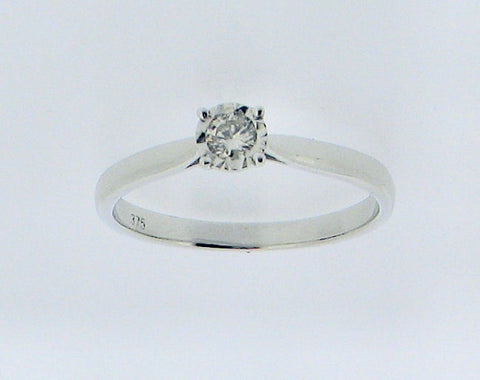 Diamond and 9ct White Gold Ring R780