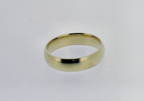 18ct Yellow Gold Wedding Band RB432
