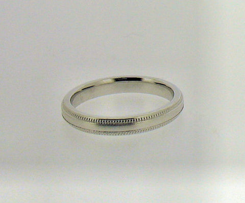 18ct White Gold Wedding Band RB530A