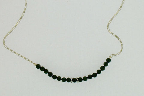 Jade Bead Necklet S18FIG16