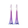 Titanium (Pink) 3 Dimensional Drop Earrings E452