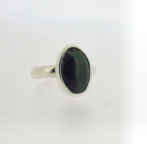 Jade and Silver Ring YOUJ1409