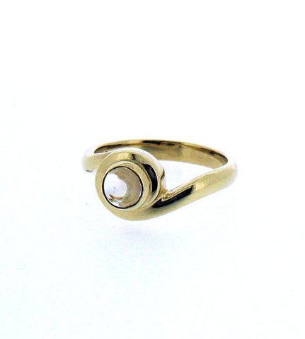 Moonstone Gold Ring R385