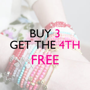 Buy 3 Gemstone Bracelets & Get 1 FREE