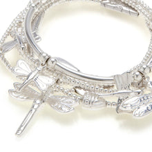 "Load image into Gallery viewer, ""Dragonfly"" Bracelet 6-Stack"