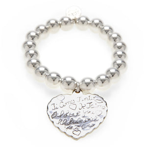 Love Heart Super Ball Bracelet - Good Charma