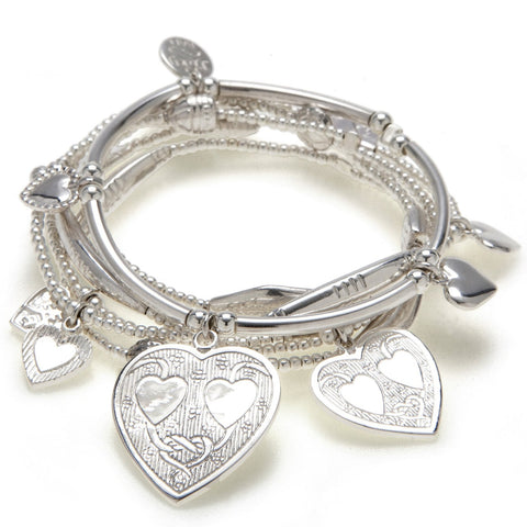 Love 6-Bracelet Set - Good Charma