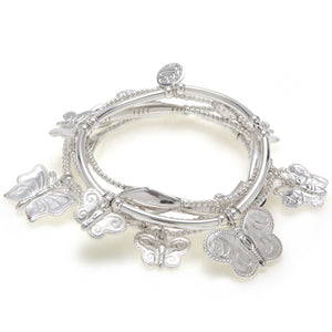 Butterfly 6-Bracelet Set - Good Charma
