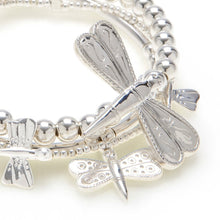 Load image into Gallery viewer, Dragonfly 3-Bracelet Set