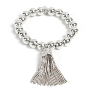 Tassel Super Ball Bracelet - Good Charma