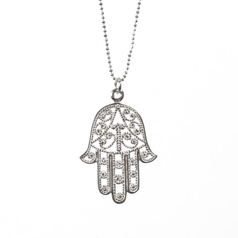 Hamsa Necklace - Good Charma