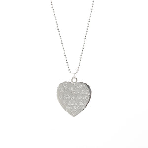 Universal Love Heart Necklace - Good Charma