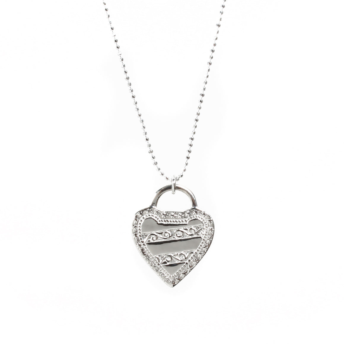 Antique Heart Necklace - Good Charma