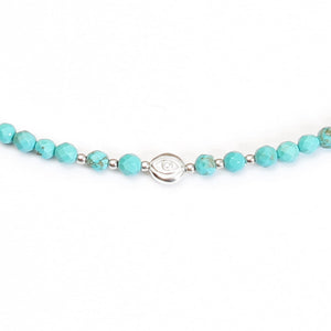 Evil Eye Turquoise Choker - Good Charma