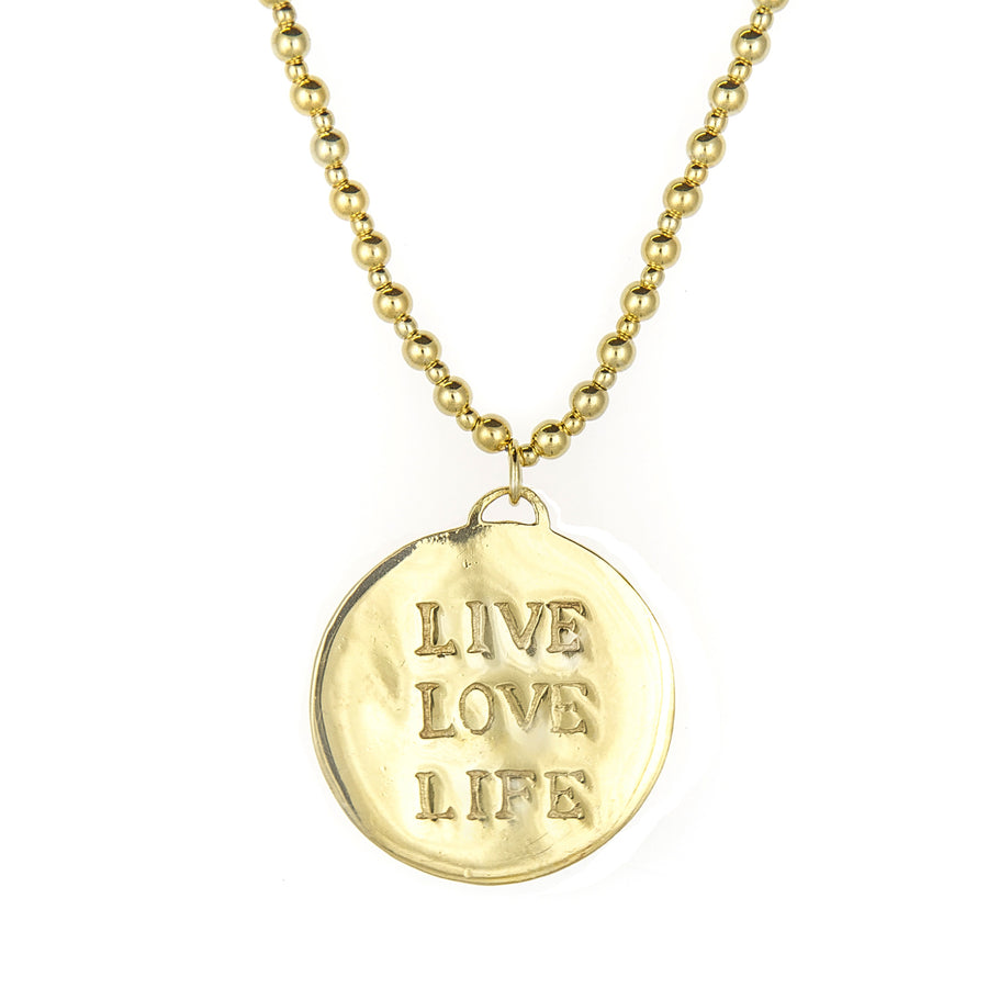Tree of Life Gold Necklace - Good Charma