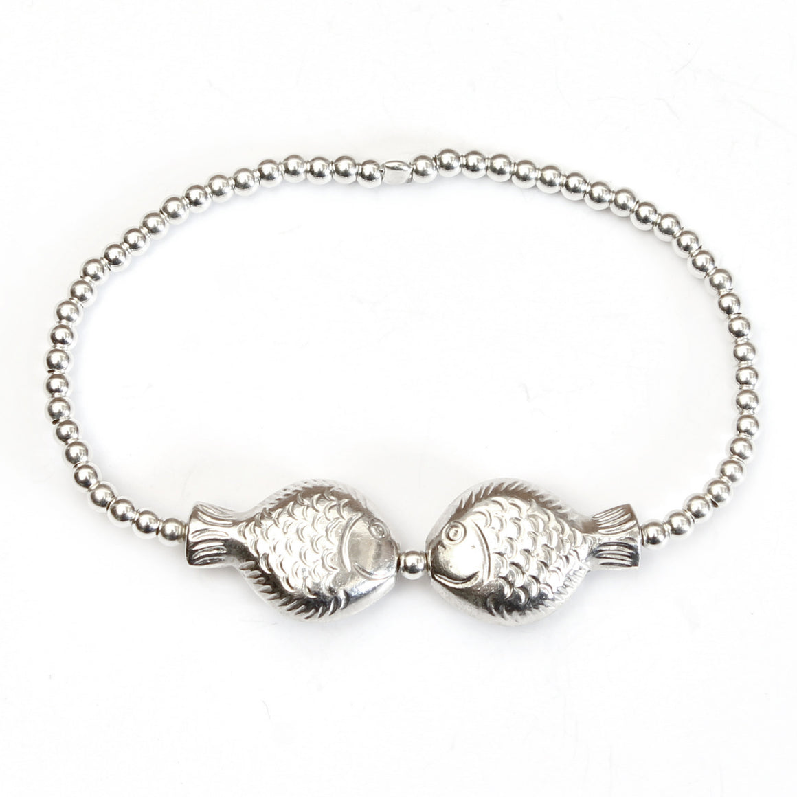 Joyful Fish Beads Bracelet - good charma