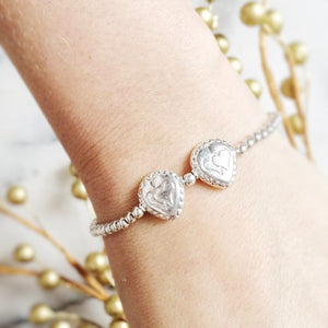 "Hearts ""DOUBLE-LOVE"" Bracelet"
