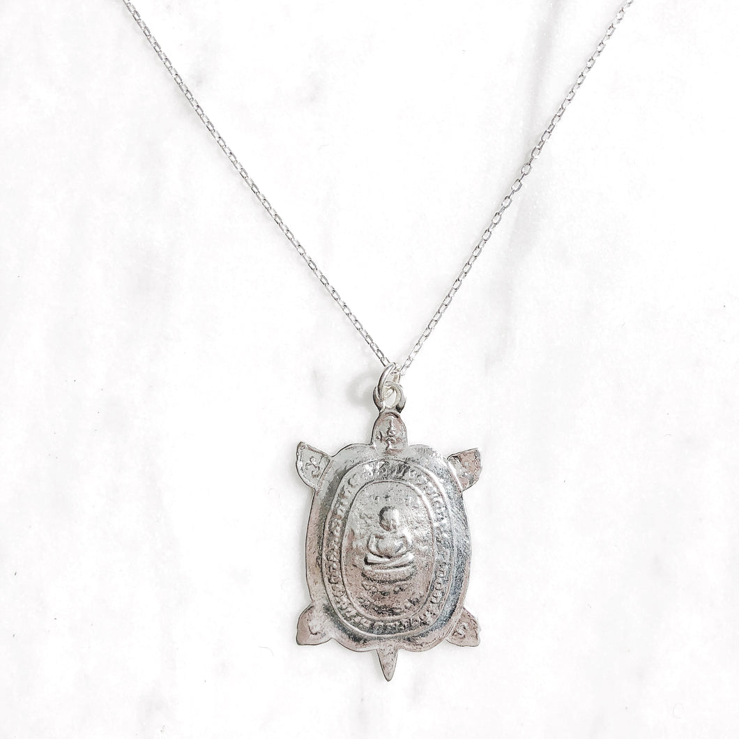 Patient Turtle Necklace - good charma