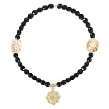 Load image into Gallery viewer, Lotus Flower Bracelet in Gold