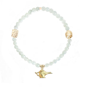 Genie Lamp Charm in Gold Vermeil