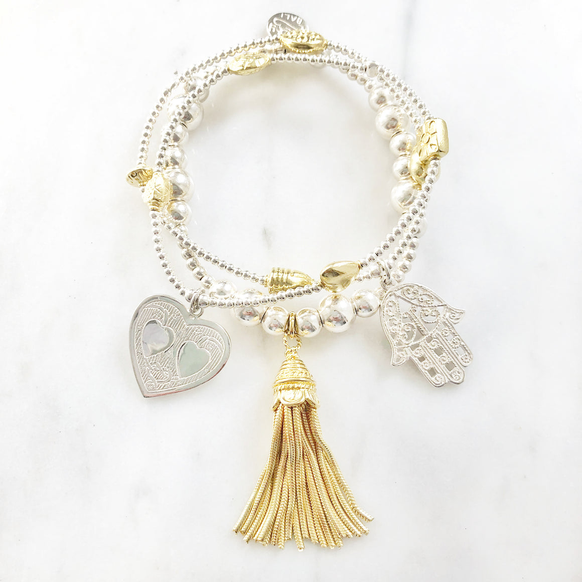 Love & Light 3-Bracelet Set