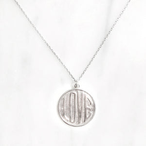 Love Medallion Necklace