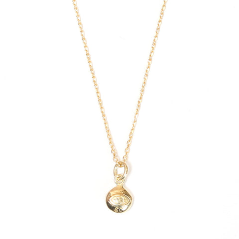 Mini Evil Eye Gold Necklace - Good Charma