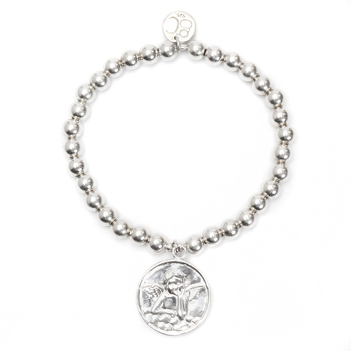 Angel Medium Ball Bracelet - good charma