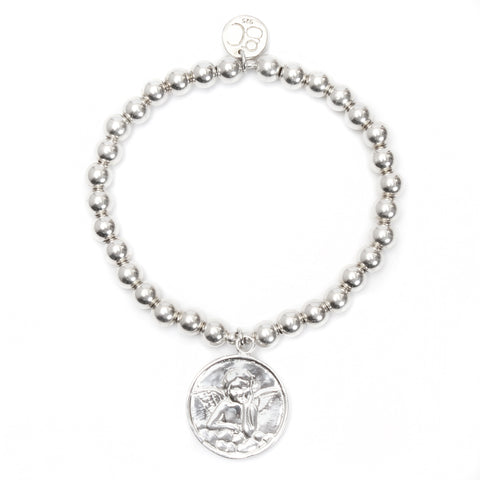Angel Medium Ball Bracelet