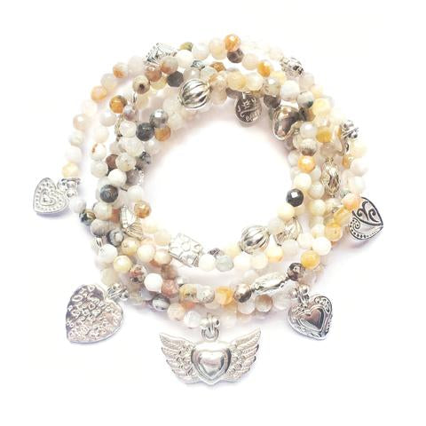Summer Luvin' 6-Bracelet Gemstone Set - good charma