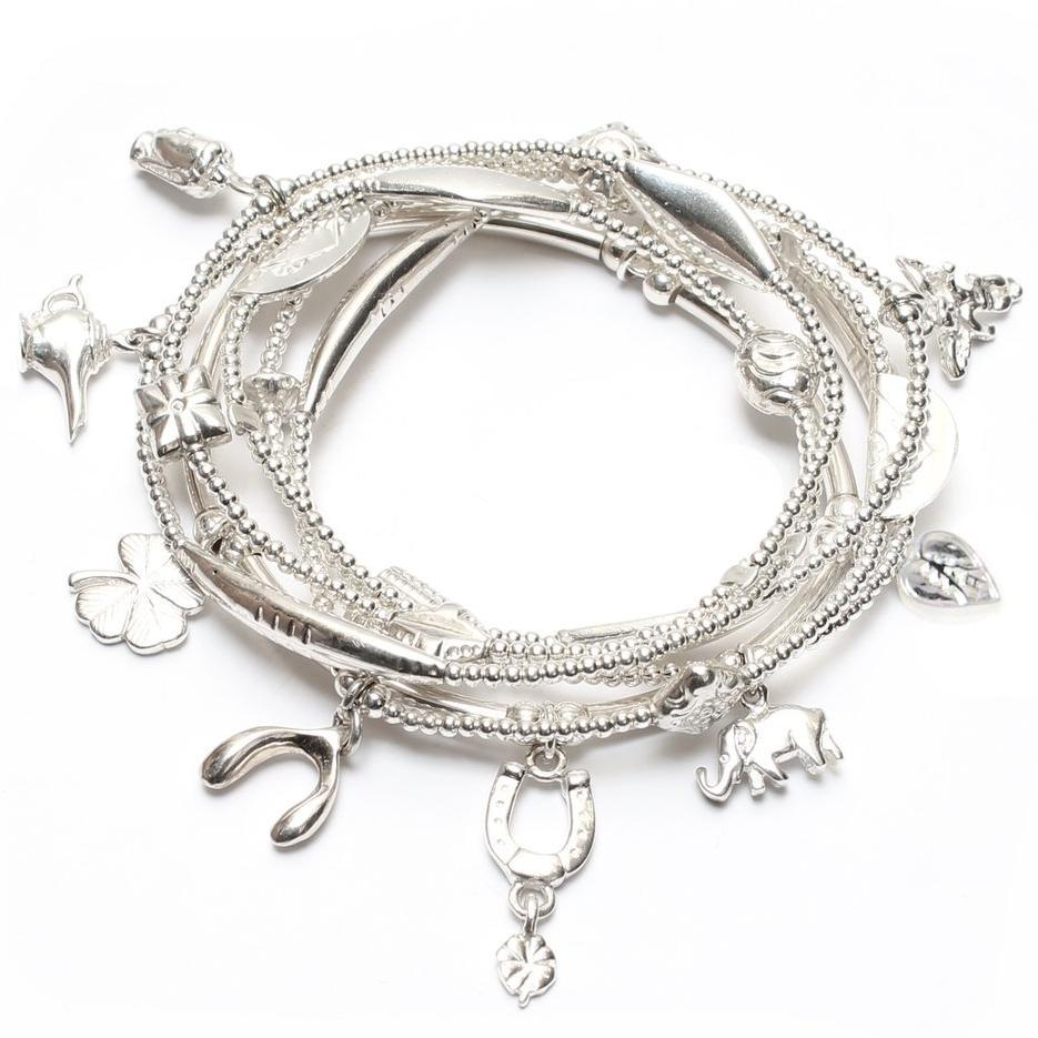 Mini Lucky 6-Bracelet Set - good charma