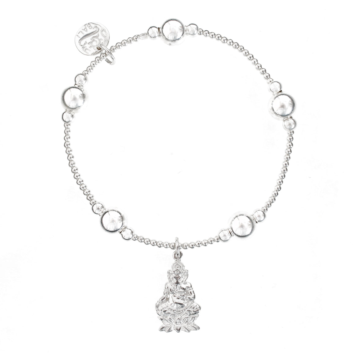 Ganesh Bali Ball Bracelet - good charma