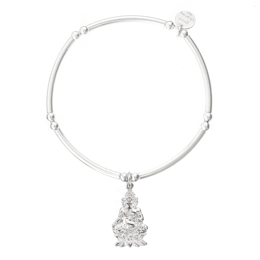 Ganesh Bangle Bracelet - good charma