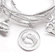 Load image into Gallery viewer, Balance Bracelet Set in Sterling Silver