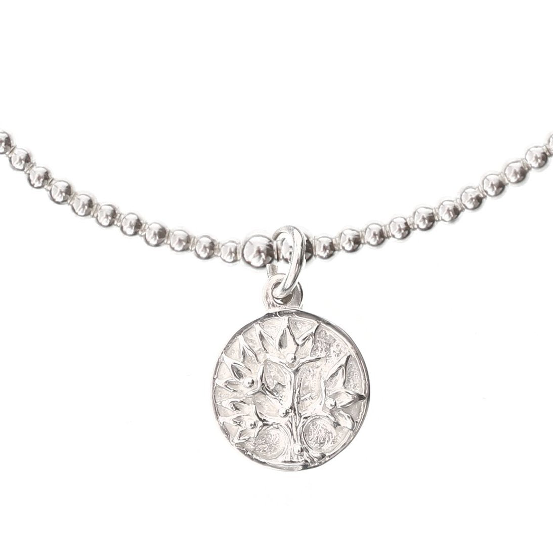 Tree of Life Silver Bracelet - good charma