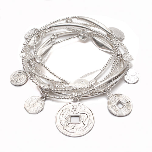 Prosperity 6-Bracelet Set - good charma