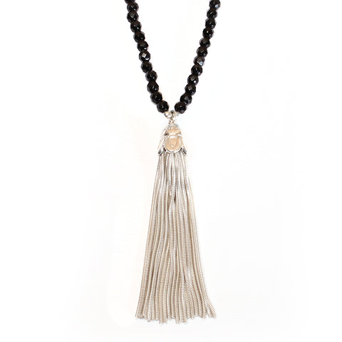 Tassel & Onyx Necklace