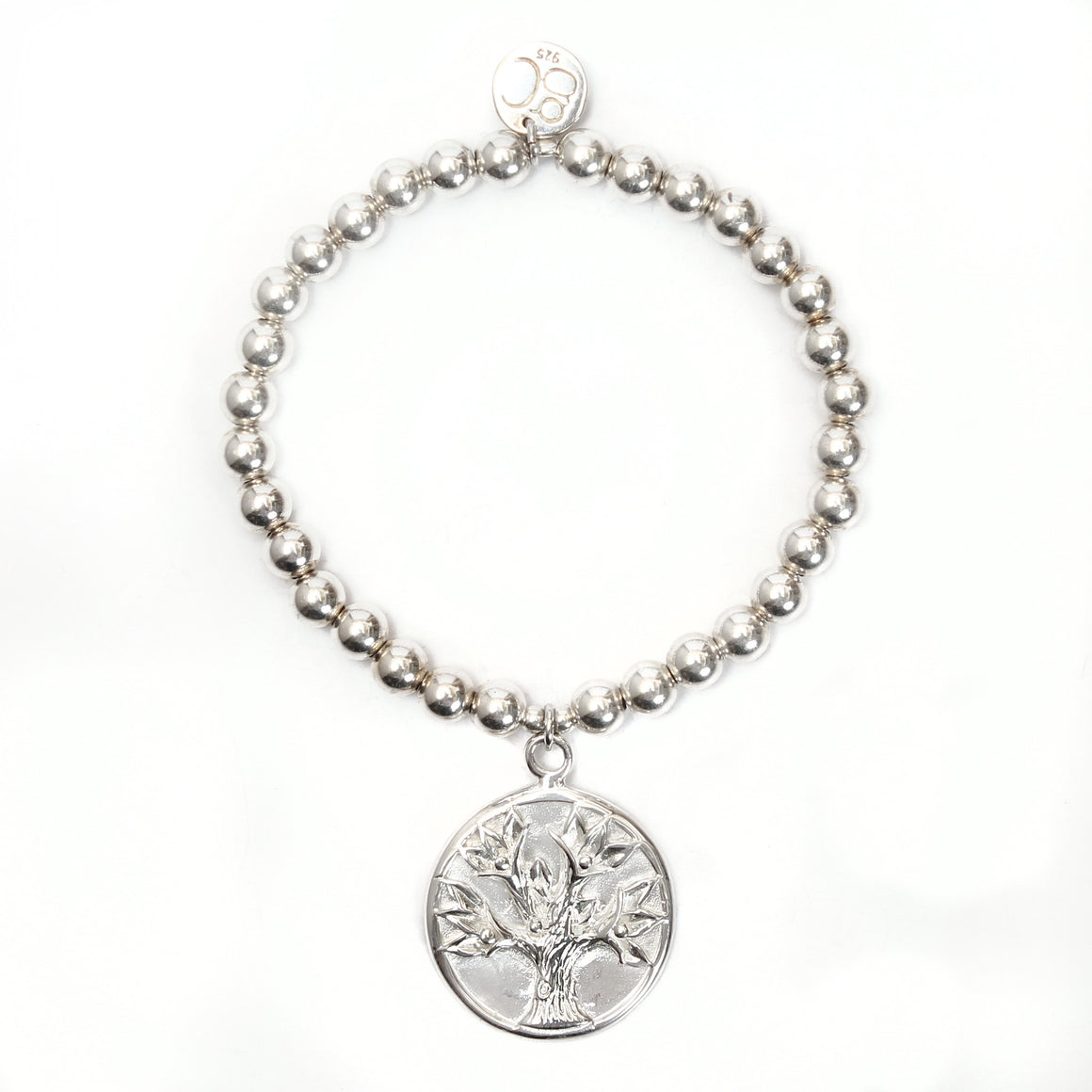 Tree of Life Medium Ball Bracelet - good charma