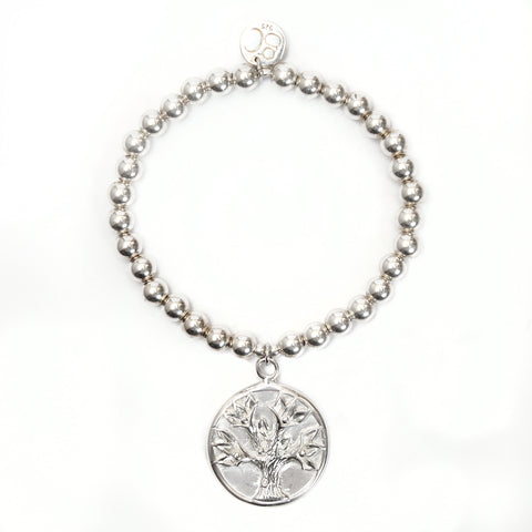 Tree of Life Medium Ball Bracelet